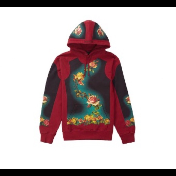 b2b7b4fc8 Supreme Shirts | Jean Paul Gaultier Floral Cardinal Hoodie | Poshmark